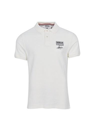Barbour B.Int. Steve Mcqueen® Chad Polo Yaka Wh32 Whisper White Beyaz
